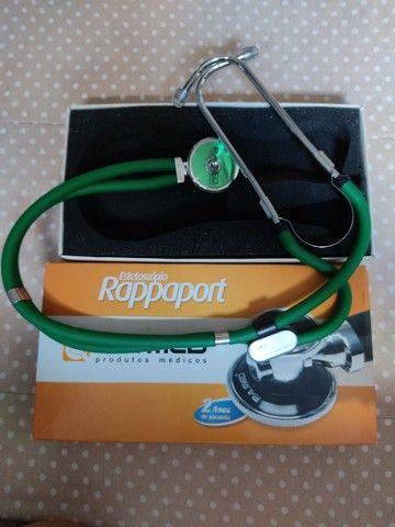 kit aparelho de pressão + estetoscópio + garrote