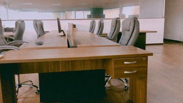 Plataformas de Trabalho e Mesa. - Foto 2