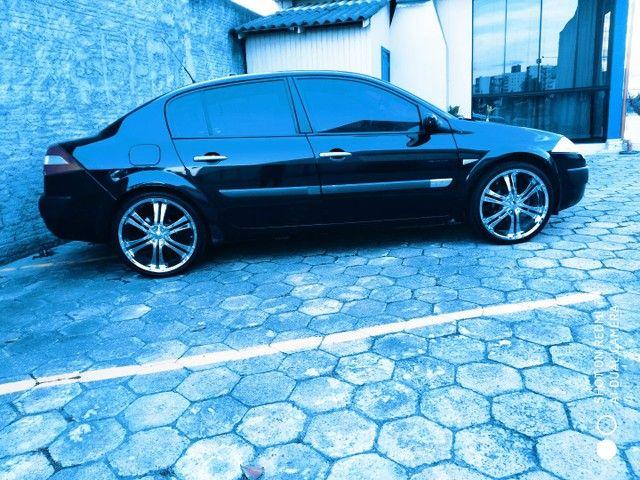 Megane sedan vendo ou troca suv - Foto 2
