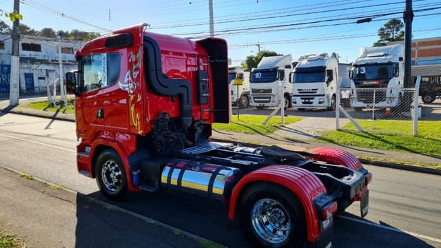 Scania R 440 4x2 Toco Automático Completo 2015 Rodas de Alumínio Fino Trato - Foto 6