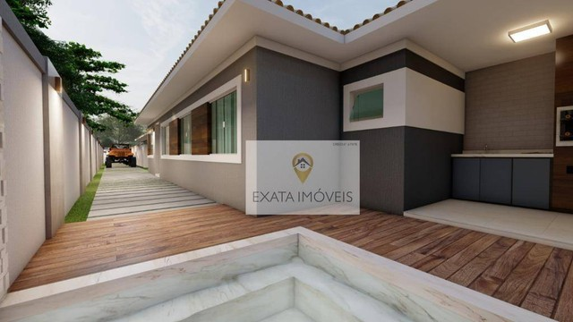 Lançamento! Casas lineares 3 quartos, com piscina/ varanda gourmet, Floresta das Gaivotas/ - Foto 2