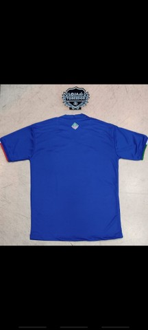 Camisa Cruzeiro I 21/22 s/n° Torcedor Adidas Masculina - Azul<br><br> - Foto 2