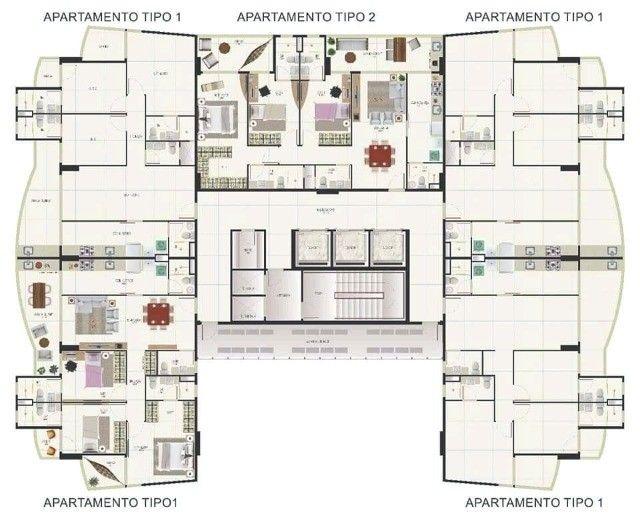 86/ Apartamento à venda de  106m² vista mar. - Foto 3