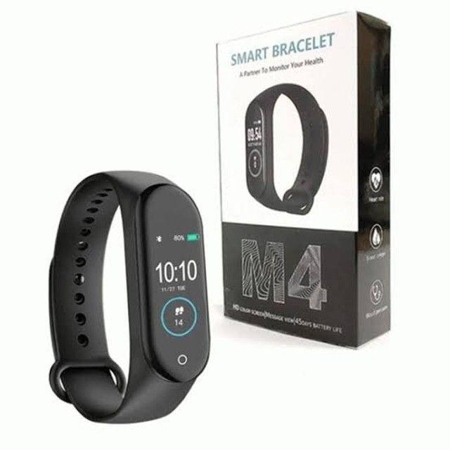 Pulseira Inteligente Smartband M4 Monitor Cardíaco + Brinde - Foto 4