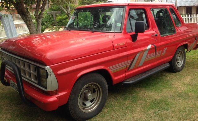 FORD F-1000 CABINE DUPLA