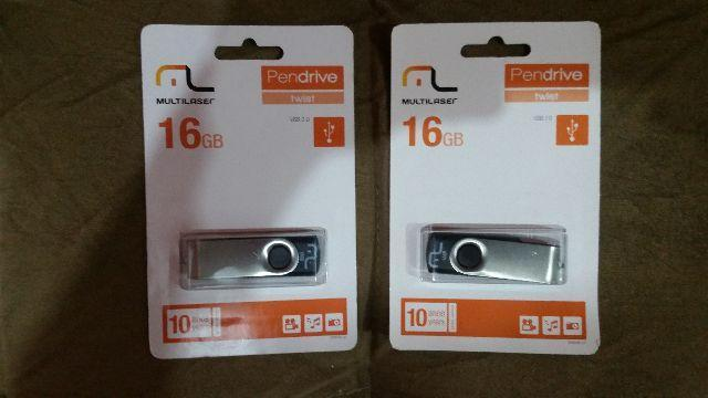 Pendrive Multilaser 16gb (Lacrado)