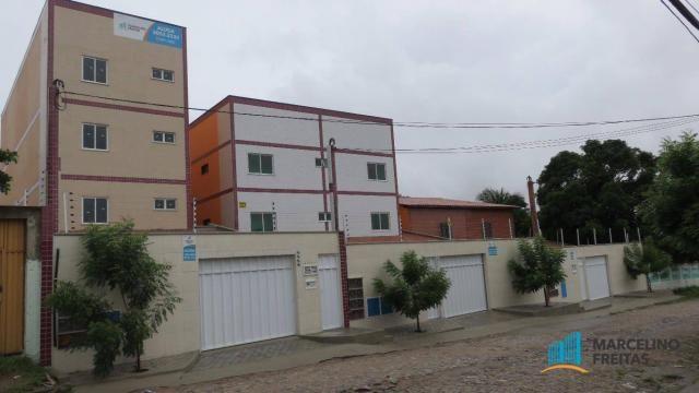 Apartamento residencial para locação, Parque Albano, Caucaia - AP2595.