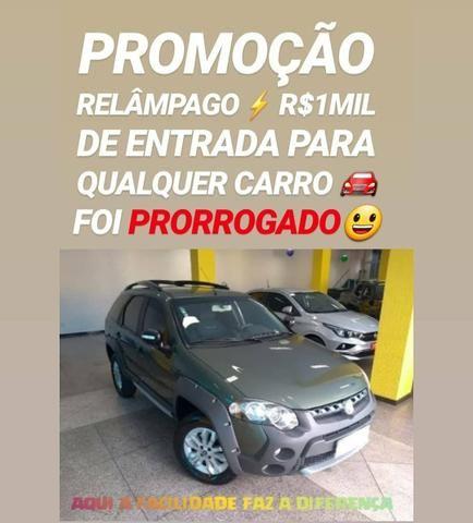 Fiat/PALIO WEEKEND ADVENTURE 2014 COM R$1MIL DE ENTRADA SÓ NA SHOWROOM AUTOMÓVEIS