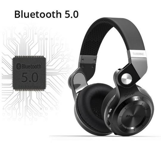 Fone Bluedio T2+ Plus com Fm E leitor de cartão de memória Microsd e Bluetooth 5.0