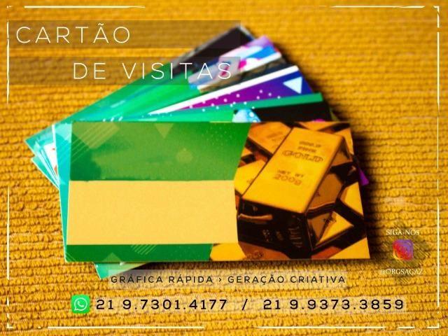 Cartão de visitas Ouro