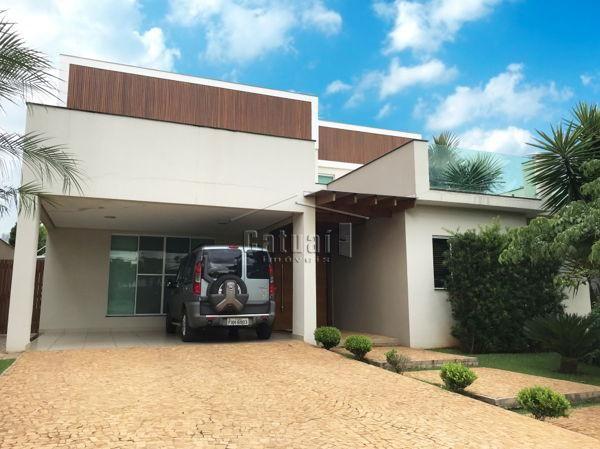 Casa sobrado em condomínio com 5 quartos no Royal Tennis - Residence & Resort - Bairro Gle