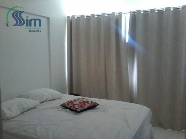 Excelente apartamento mobiliado na aldeota - Foto 11