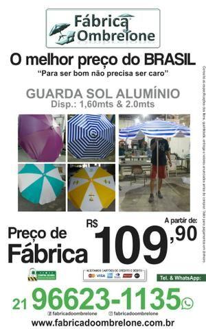 Fábrica do Ombrelone / Guarda Sol - Diversos modelos & medidas - Foto 2