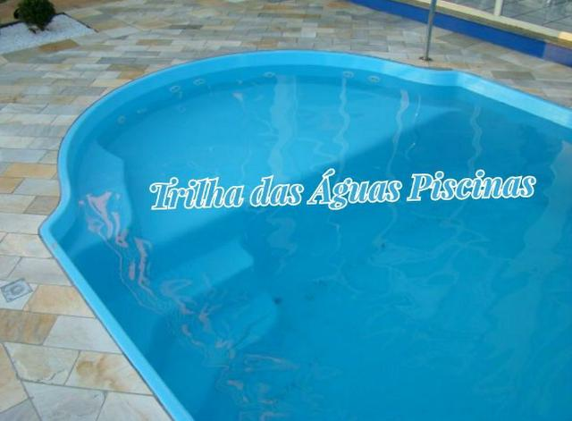 Piscina de Fibra 6x 3 Modelo Prainha - Foto 5