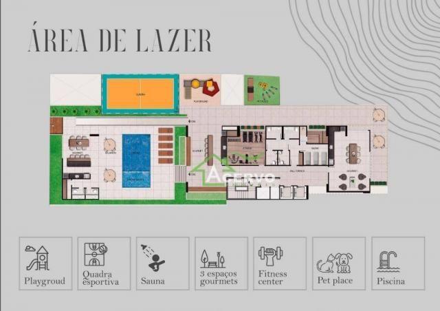 Apartamento Garden com 3 dormitórios à venda por R$ 649.900 - Granbery - Juiz de Fora/MG - Foto 3