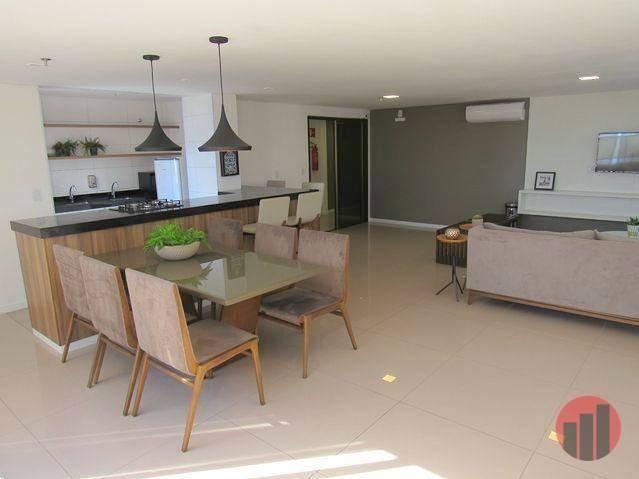 Apartamento com 3 dormitórios para alugar, 92 m² por R$ 2.100/mês - Papicu - Fortaleza/CE - Foto 14