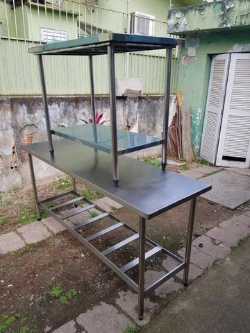 Mesas e Pias de Inox para Uso Comercial - Foto 3