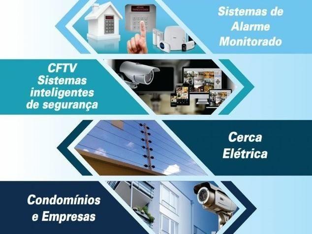 Instalação de Câmeras, Alarmes, Interfones, Cerca Elétrica e etc