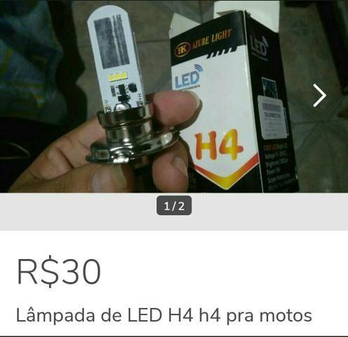 Lâmpada de LED H4 para motos