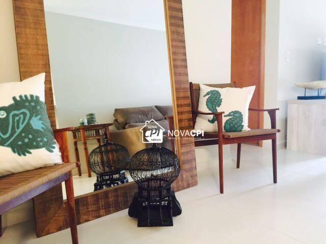 Apartamento para alugar, 123 m² por r$ 4.000,00/mês - aviação - praia grande/sp - Foto 2