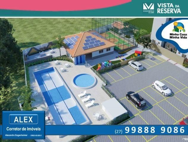 ALX - 46 - Apartamento com 3 Quartos - Entrada Parcelada em 60 meses - Vista da Reserva - Foto 4