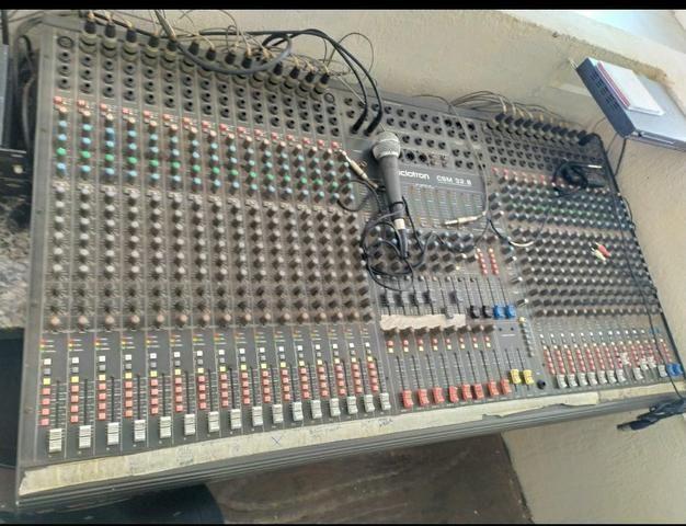 Vendo mesa de som 24 canais - Foto 2