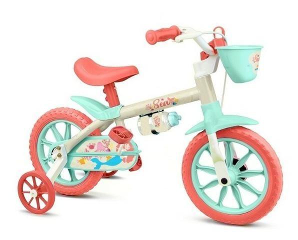 Bicicleta aro 12 fem e masc Nathor - Foto 3