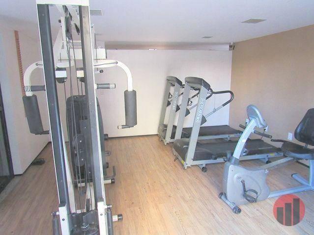 Apartamento com 2 dormitórios para alugar, 70 m² por R$ 1.300,00 - Meireles - Fortaleza/CE - Foto 3
