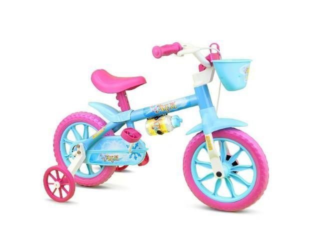 Bicicleta aro 12 fem e masc Nathor