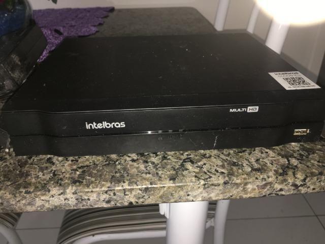 Kit 4 Câmeras + DVR Intelbras + Câmeras Infravermelho de Visão Noturna - Foto 2