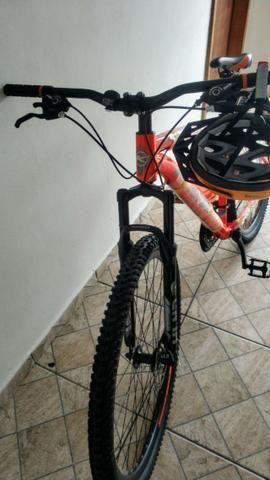 Novo! Bicicleta Aro 29 - 21v - Câmbios Shimano - Freio a Disco Mecânico com Suspensão