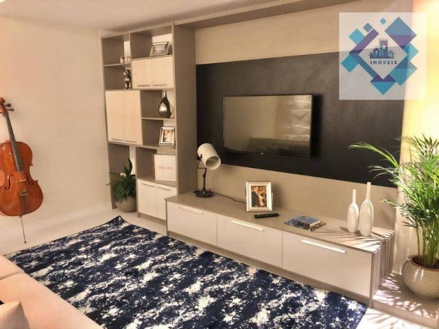 Apartamento com 3 dormitórios à venda, 127 m² por R$ 429.000 - Engenheiro Luciano Cavalcan - Foto 18