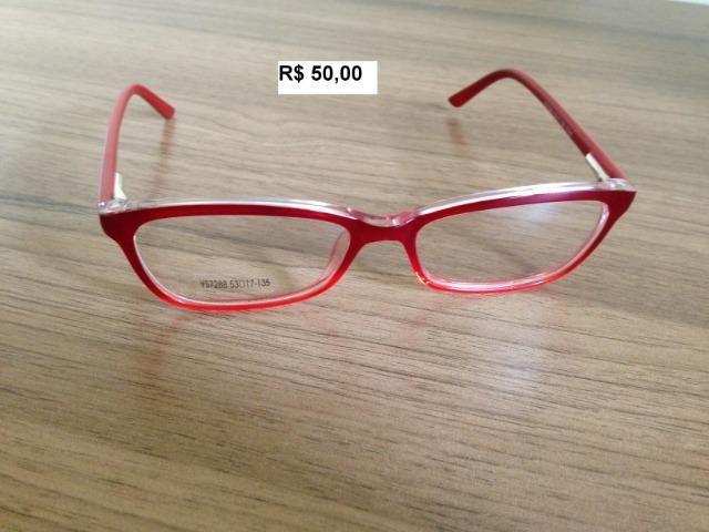 Armação para óculos de grau feminina - Bijouterias, relógios e ... 9bfd28c503