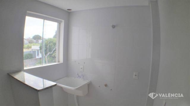 Apartamento com 2 Quartos, Churrasqueira, Para Alugar no Pioneiros Catarinense. - Foto 9