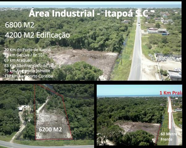 Galpão em Terreno de 6000 M2 Área Industrial Itapoá