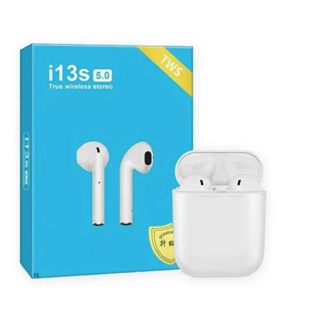 Fone de Ouvido Sem Fio Bluetooth i13s 5.0 Touch - Tws
