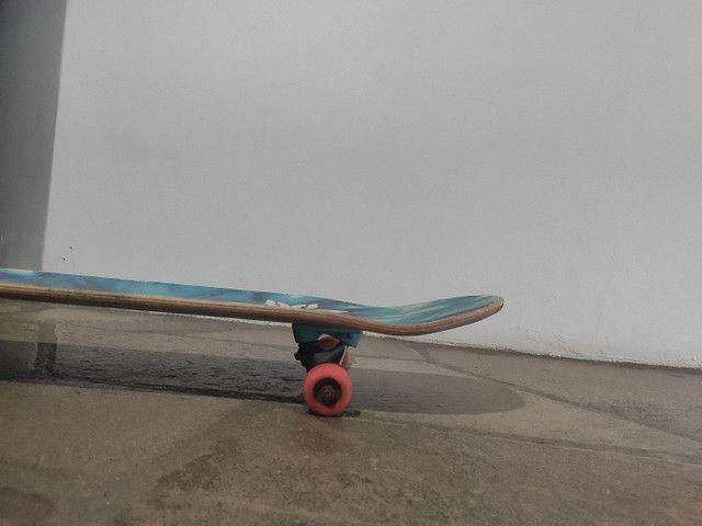 Skate montado semi novo - Foto 5