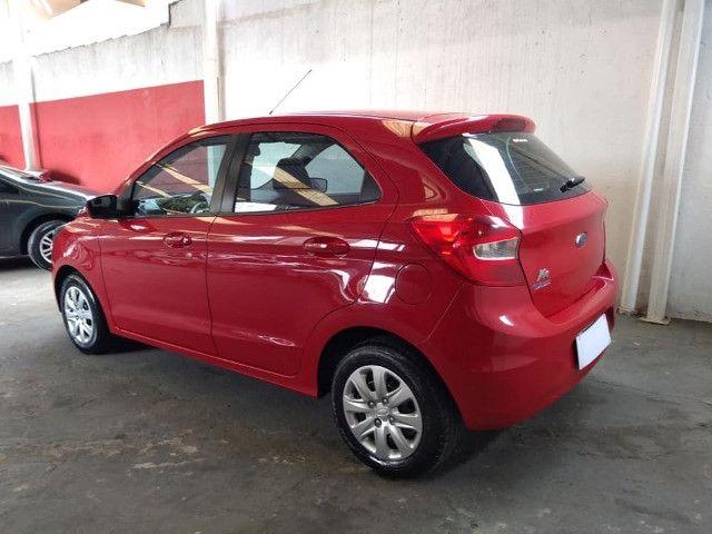 Vendo Troco e Financio Ford KA SE 1.0 2015 completo 58 milkm - Foto 9