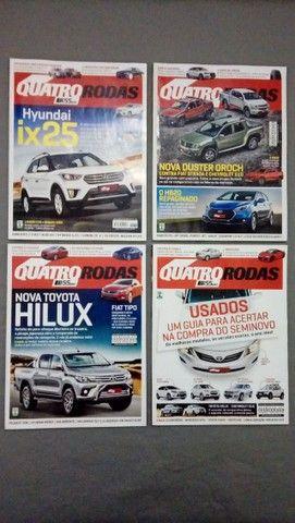 Revista Quatro Rodas Ano 2015 + Brindes - Foto 3