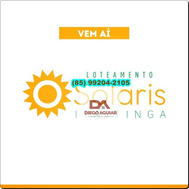 Loteamento Solaris em Itaitinga-Gererau ¨%$# - Foto 2