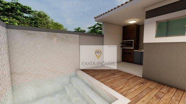 Lançamento! Casas lineares 3 quartos, com piscina/ varanda gourmet, Floresta das Gaivotas/ - Foto 7