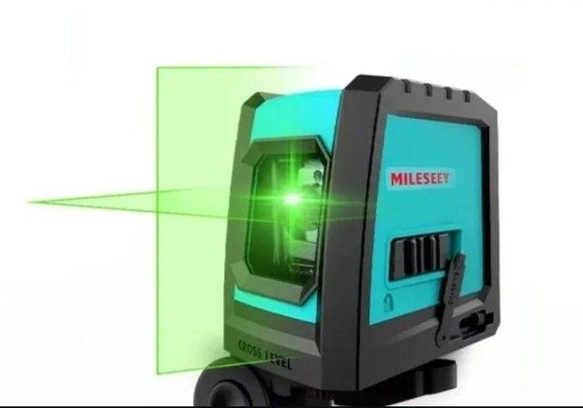Nível a laser VERDE (20 a 30 m) - Foto 2