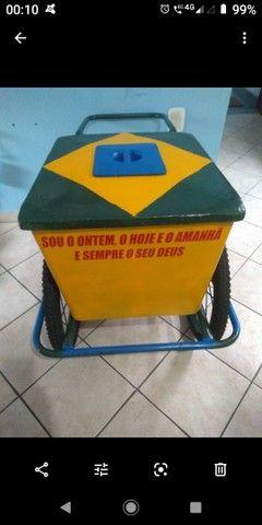 Vendo carrinho de sorvete - Foto 2
