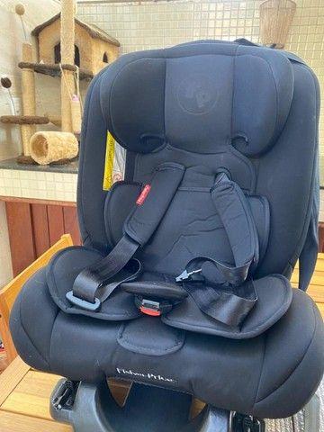 Fisher Price Cadeira Para Auto All Stages Isofix 36 Kg Preto - Foto 2