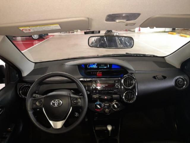 Toyota Etios 1.5 X PLUS 16V FLEX 4P AUTOMATICO - Foto 8