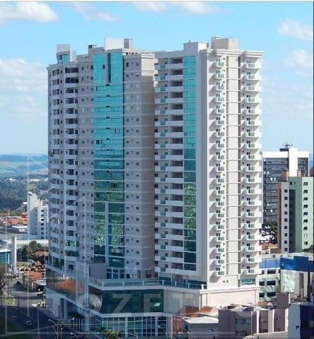 Apartamento para Venda em Ponta Grossa, Centro, 2 dormitórios, 1 suíte, 2 banheiros, 1 vag