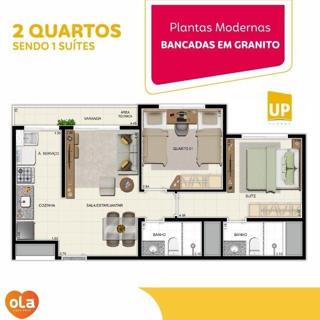 Apartamento 2 quartos - Flores (ajl01) - Foto 12