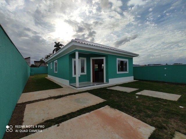 espetacular casa de 3 qrts com terreno inteiro em fino acabamento,carta - Foto 12