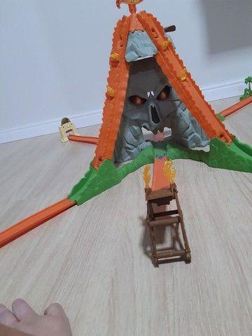 Pista caveira hotweels original sem avarias funcionando presente para criança   - Foto 2