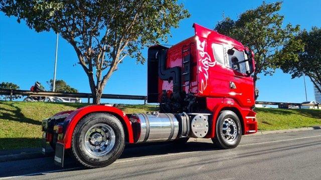 Scania R 440 4x2 Toco Automático Completo 2015 Rodas de Alumínio Fino Trato - Foto 9